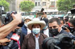 Peru leftist Castillo claims election win as Fujimori fights result