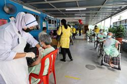 Offering 'vaccination taxi' service to the needy