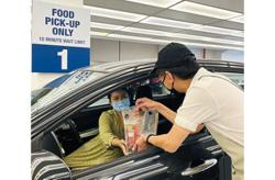 Mall offers drive-through pick-up service