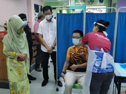 250 special needs individuals get vaccinated at Sibu's Agape Centre