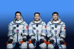 China to send 3 astronauts to space station tomorrow