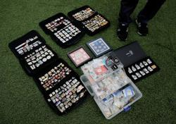 Olympics-Pin enthusiasts lament loss of trading chances in Tokyo