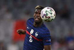 Soccer-Pogba removes Heineken bottle at Euro news conference