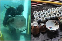 Centuries-old shipwrecks discovered in Singapore waters; artefacts to be displayed in museums