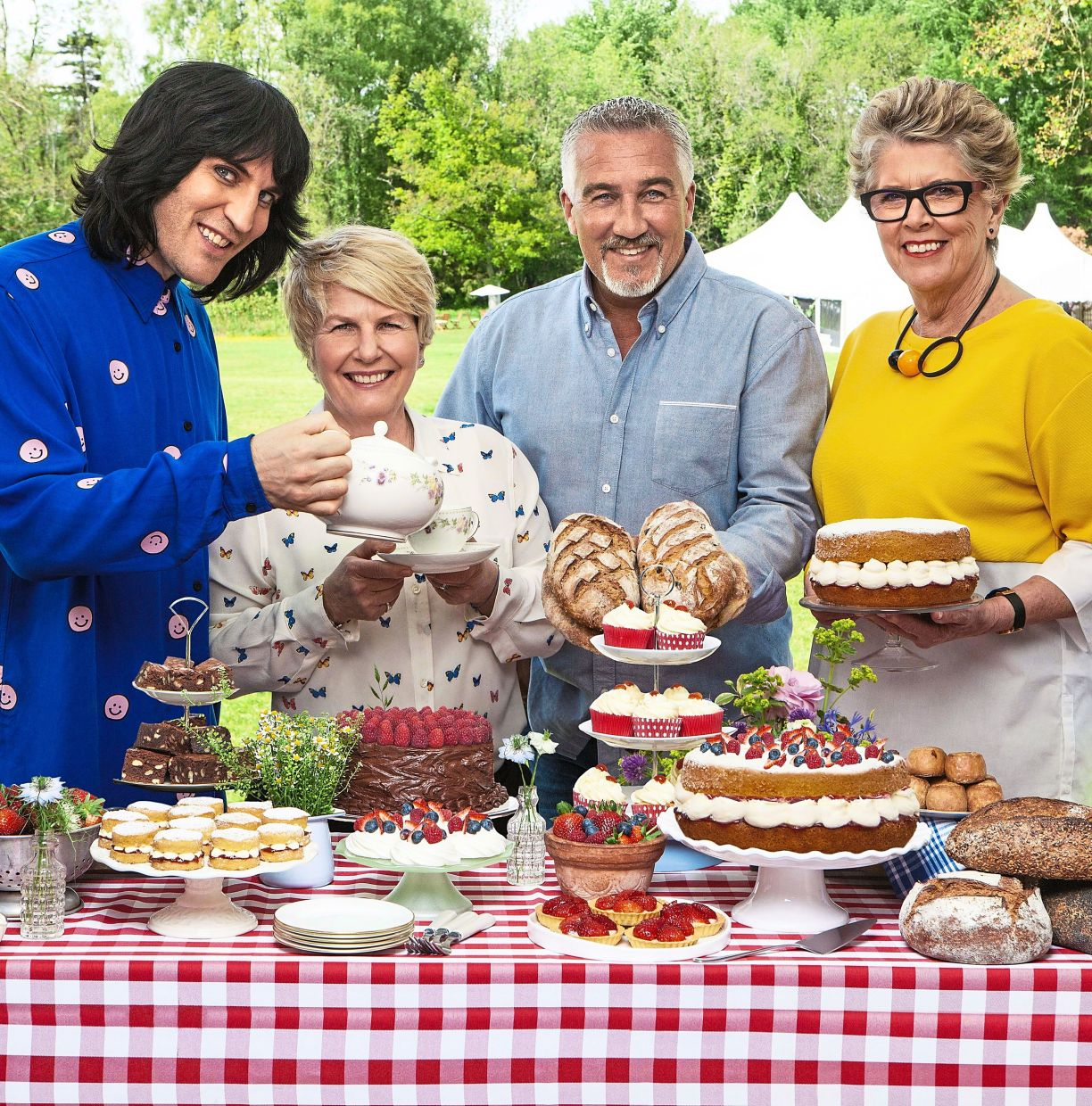 Is dad a fan of the Great British Bake Off? Well, an apron, or even better, a recipe book might win you favours.