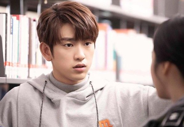 Choi's mate, Jinyoung has been acting since 2012. Photo: Handout