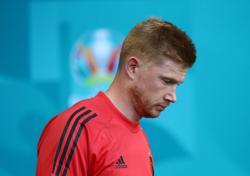 Soccer-De Bruyne fit to play for Belgium against Denmark