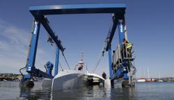 Robotic ship sets off to retrace the Mayflowers journey