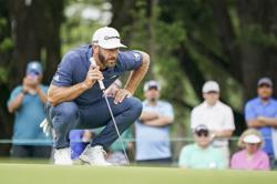 Golf-Johnson hopes to drive back into major discussion at U.S. Open