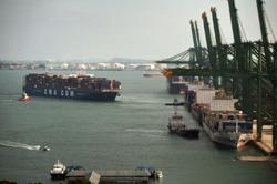 Singapore non-oil exports growth picks up pace in May, but lower than expected