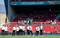 Soccer-Damsgaard replaces Eriksen in Denmark lineup against Belgium