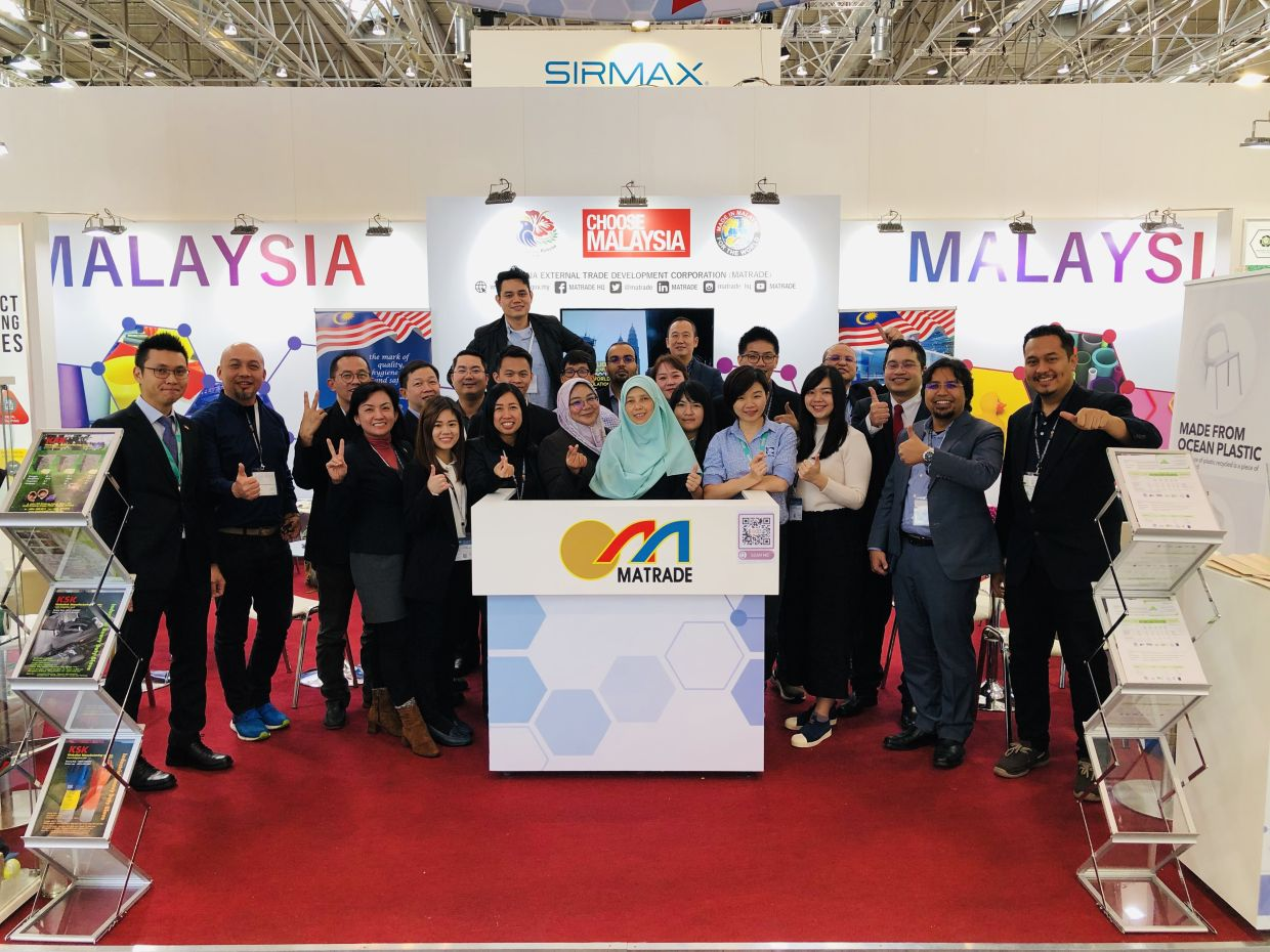 Back in 2019, HHI participated in K-Fair exhibition in Dusseldorf, Germany under MATRADE