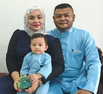 Mohd Aswad Jaafar and his wife Nurulhuda Idris are thankful for the aid extended to them.