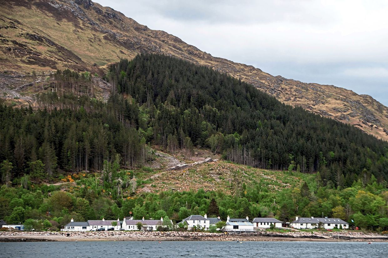 Inverie, located in the Scottish Highlands, has a population of 90 people.