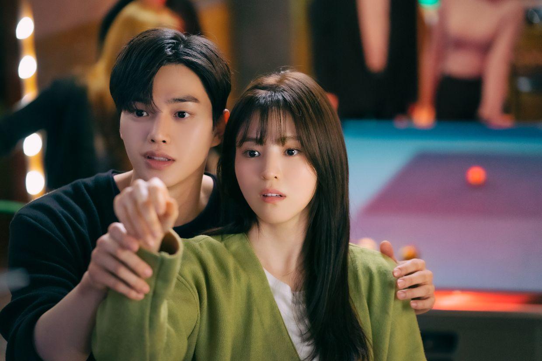 'Nevertheless' tells the story of a blossoming romance between two art school classmates. Photo: Netflix