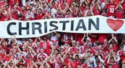 Soccer-Denmark and Belgium pause Euro clash to honour Eriksen