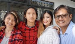Malaysia's king of swing shares what fatherhood means to him