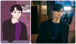 Korean actor Song Kang loses 5kg to look like webtoon character for new K-drama