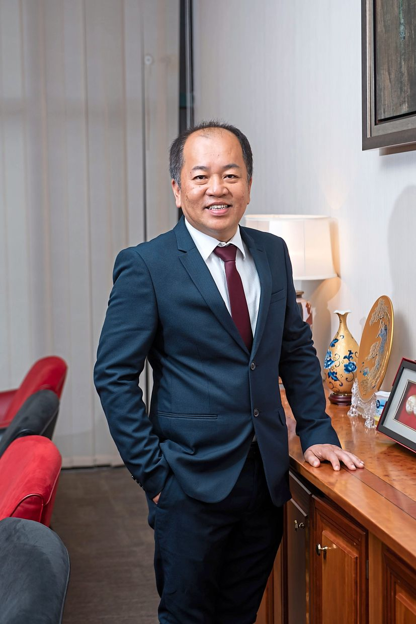 Greatech executive director and CEO Tan Eng Kee