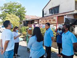Seven in Kajang home test positive