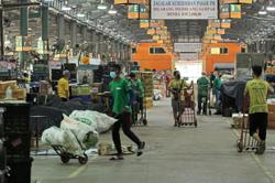 Vaccination for wholesale market traders tomorrow