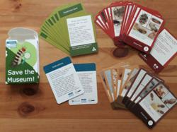 How you can 'Save The Museum' from pests with a card game