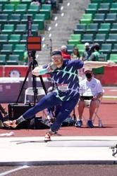 Athletics-American Ryan Crouser breaks shot put world record