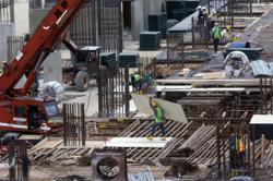 Construction site slapped with notice due to unsavoury living conditions for workers