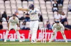 Cricket-Kohli helps India rebuild to 120-3 at tea in WTC final