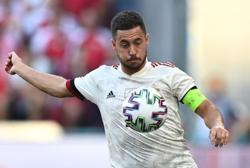 Soccer-Finns face tough Belgian test in final group game