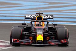 Motor racing-Verstappen beats Hamilton to French GP pole