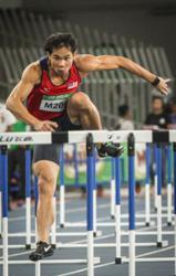 Kang Ni wins discus gold, hurdler Rayzam books SEA Games ticket in Almaty