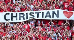 Soccer-'For Christian' - Danish fans prepare for final group-match push