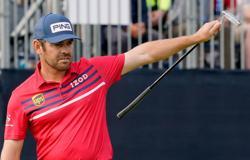 Golf-Oosthuizen in three-way tie for U.S. Open lead