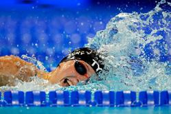 Olympics-Ledecky completes Tokyo to-do list qualifying in 800 at U.S. trials