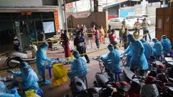 Top virus official unhappy as Cambodia's Covid-19 numbers and death toll are surging away