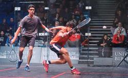 Ishant has the pedigree to juggle both - squash and a degree