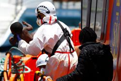 Dozens of migrants rescued off Spain's Gran Canaria