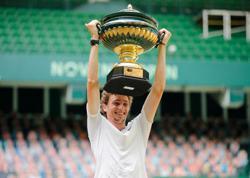 Tennis-Humbert stuns Rublev to claim Halle title