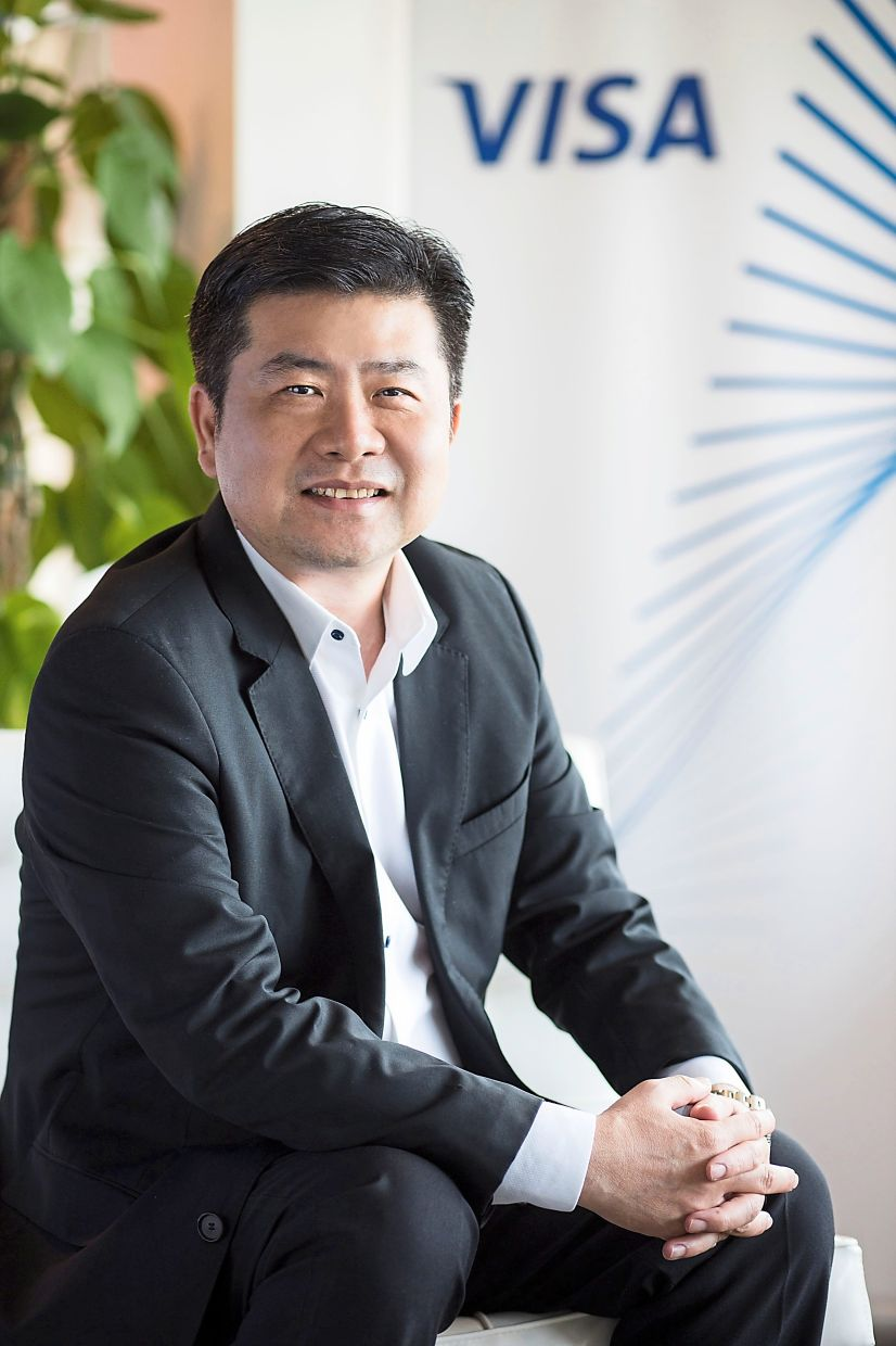 Improving the journey: Visa is eyeing better user interface or experience in digital banking, says Ng.