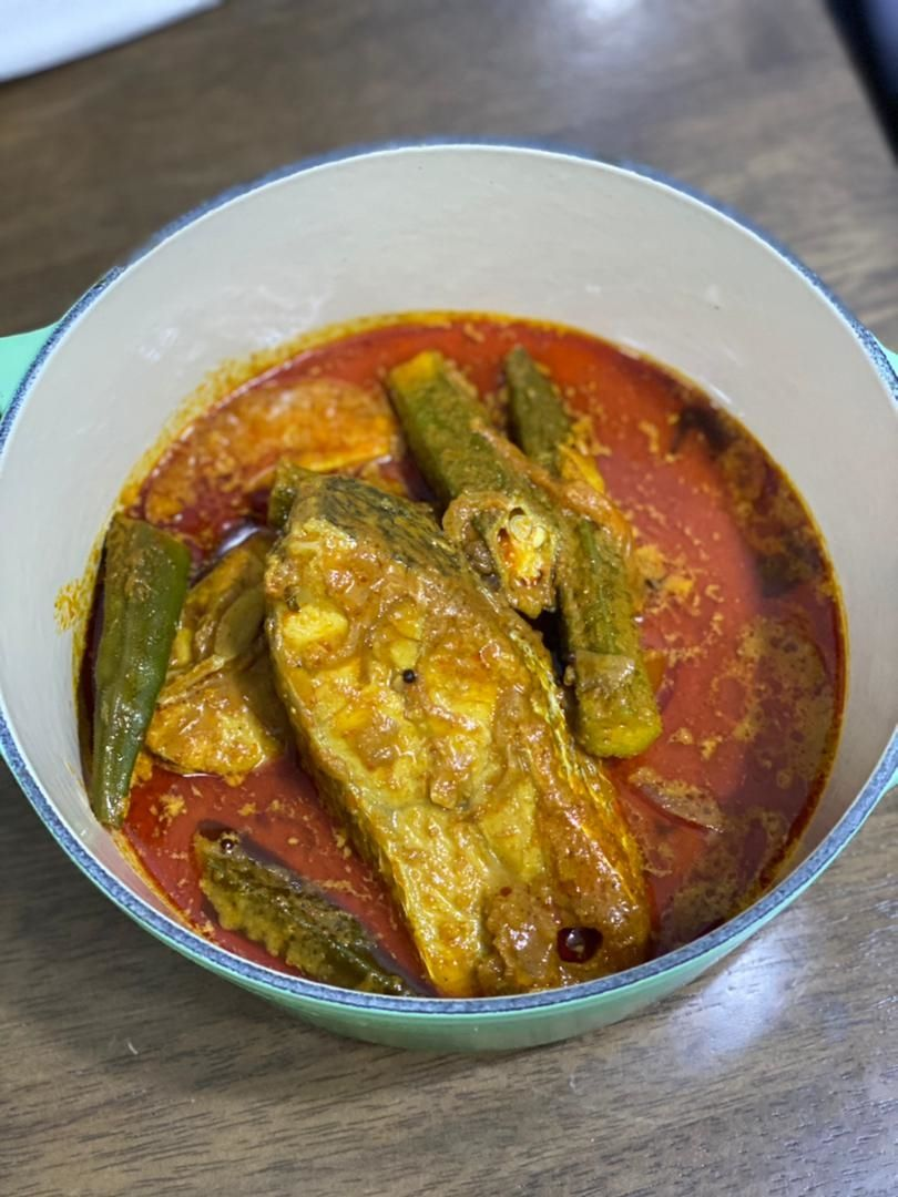 Gulai ikan was a staple in Johari's home when his father was around as he loved it so much that the family typically ate it nearly every day.