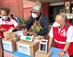 NGO, foundation and varsity donate medical equipment to hospital