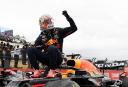 Motor racing-Verstappen on a roll with Red Bull after French win