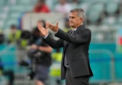 Soccer-Turkey coach blames many factors for 'unacceptable performance'