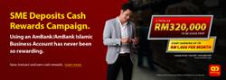 AmBank offers RM320, 000 cash rewards