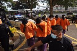 Cops get four-day remand order on 11 nabbed over SOP violation during funeral procession