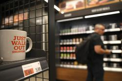Amazon opens its largest-yet cashierless grocery in US