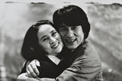 Is Jackie Chan and Lin Feng-Chiao's marriage on the rocks?