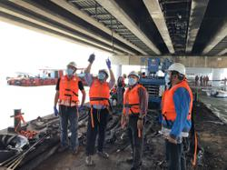 Cable repair on Penang Bridge to be completed by Friday (June 25), two weeks ahead of schedule