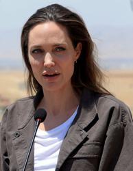 U.N. special envoy Jolie visits refugee camp in Burkina Faso